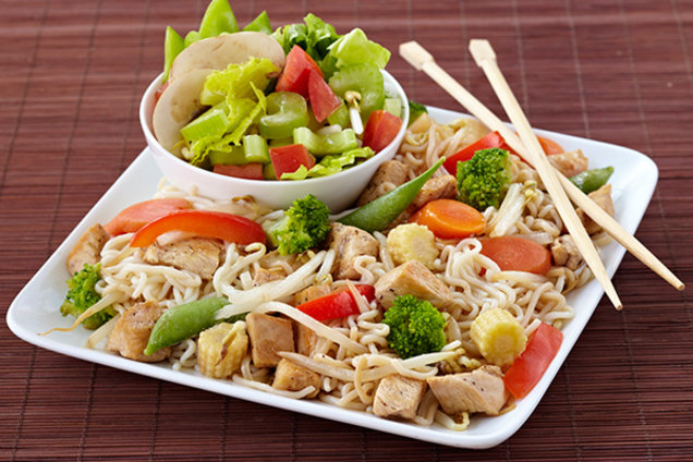Healthy Low-Carb Chicken Lo Mein Recipe