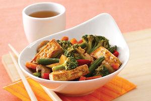 Low-Calorie Asian Tofu Stir-Fry Recipe