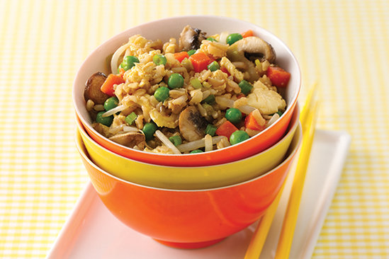 Healthy Veggie Fried Rice Recipe