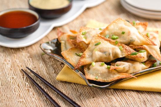 Hungry Girl's Healthy The Crab Rangoonies Recipe
