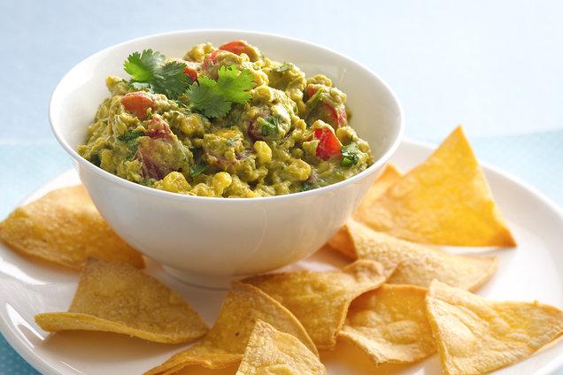 Hungry Girl's Healthy Rockin' Roasted Corn Guac Recipe