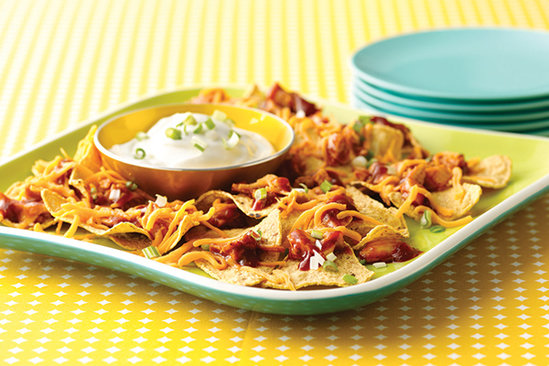 Saucy Chick BBQ Nachos
