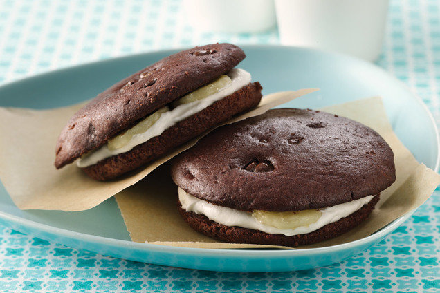 Healthy Freezy-Cool Banana Whoopie Pies Recipe