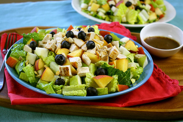 Healthy Fruit and Chicken Salad Recipe