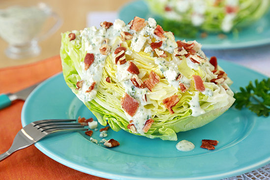 Healthy Green Goddess Wedge Salad Recipe