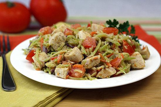Healthy Veggie Chicken Alfredo Recipe