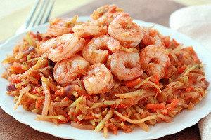 Healthy Shrimp Marinara Recipe