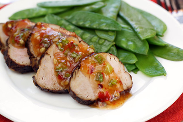 Healthy Asian Pork Tenderloin Recipe