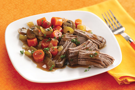 Healthy Slow-Cooker Pot Roast Recipe