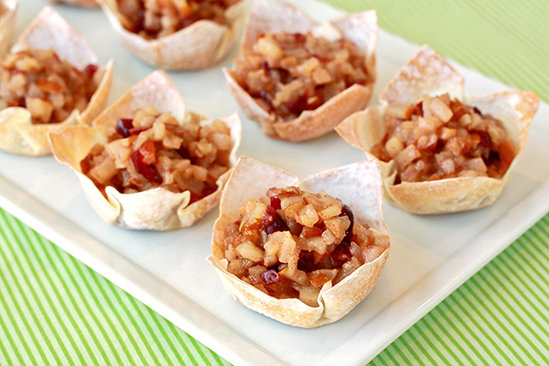 Merry Cranberry Pear Tarts