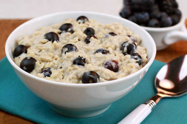 Blueberry Muffin Growing Oatmeal