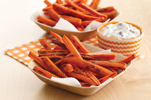 Healthy Grin 'n Carrot Fries Recipe
