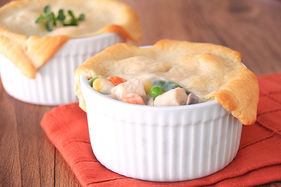 Hungry Girl's Healthy Mini Chicken Pot Pies Recipe