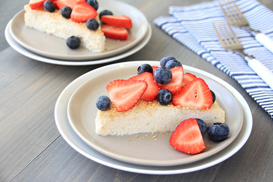 Red, White & Blue Cheesecake