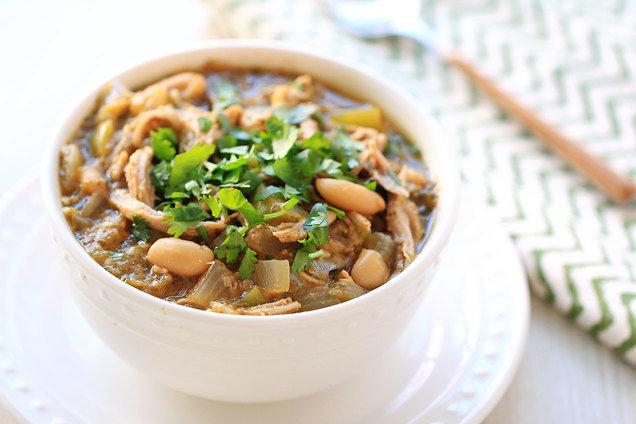 Chicken pork green chili recipe
