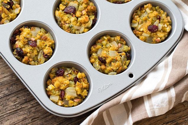 HG's Cornbread Stuffin' Muffins