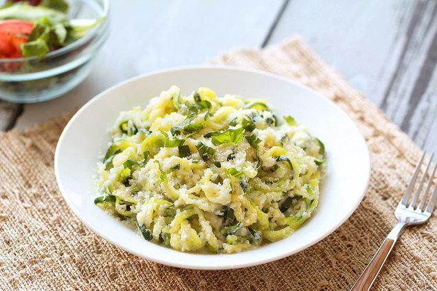 Zucchini-Noodle Alfredo Recipe