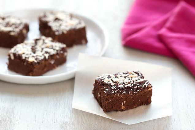 Hungry Girl's Healthy Coconut Chocolate Fudge recipe