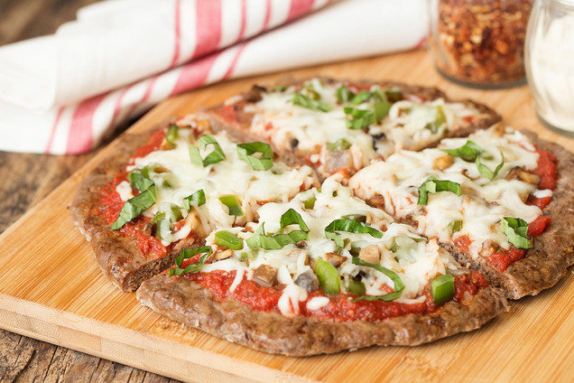 Hungry Girl's Healthy Meatza Pizza Recipe