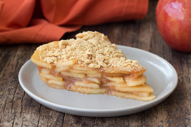 Hungry Girl's Healthy Upside-Down Apple Pie Recipe