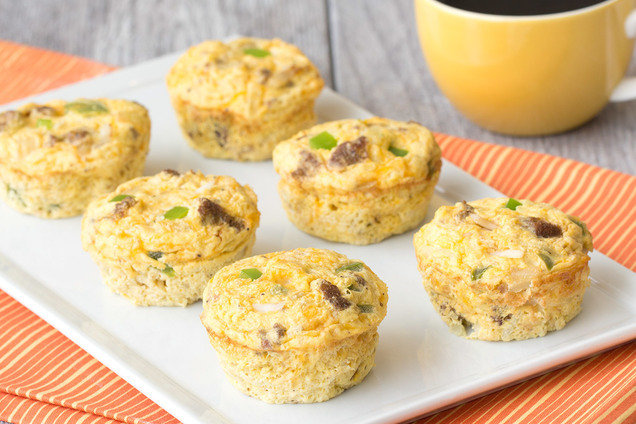 Healthy All-American Egg Bakes Recipe