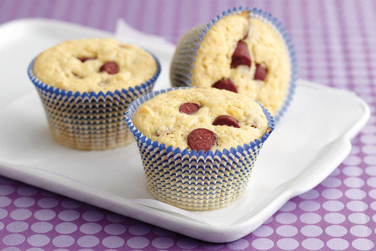 Healthy Corn Dog Muffins Recipe
