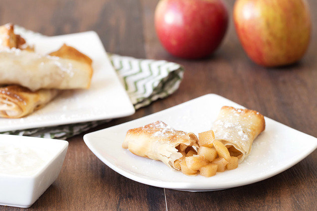 Apple Pie Egg Rolls