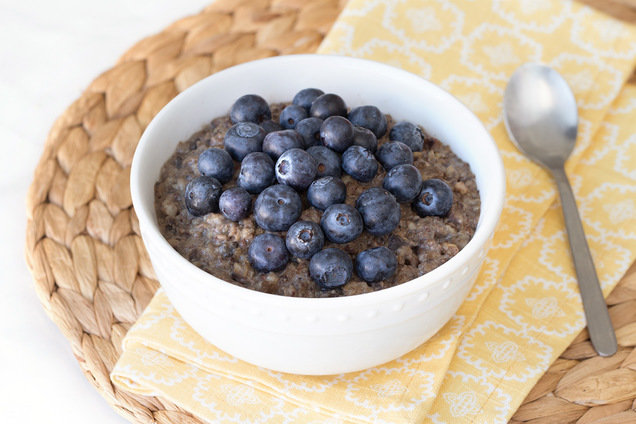 Hungry Girl's Healthy Blueberry Oatmeal Recipe