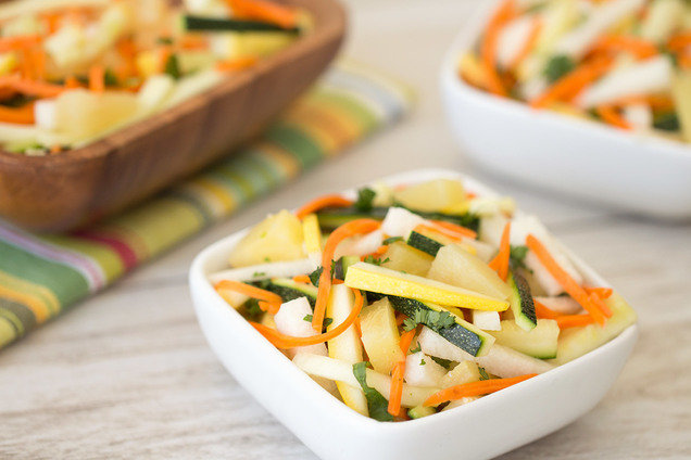 Hungry Girl's Healthy Super Summer Slaw Recipe