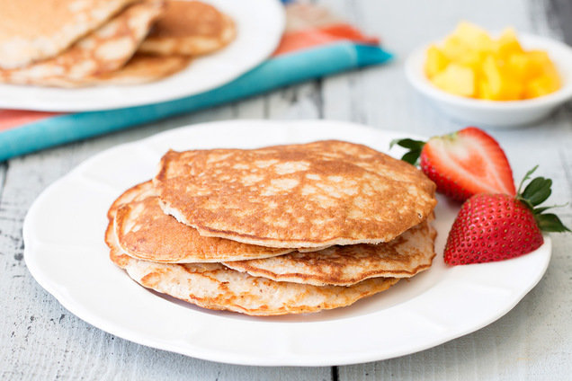 Hungry Girl's Healthy Smoothie Pancakes Recipe