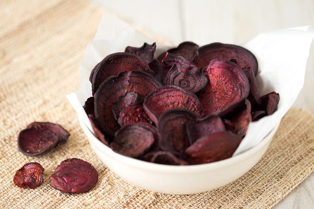 Hungry Girl's Healthy Best-Ever Beet Chips