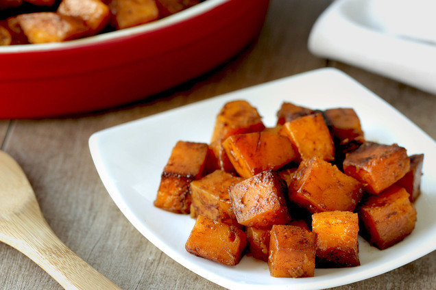 Hungry Girl's Healthy Cinnamon Maple Butternut Squash Recipe