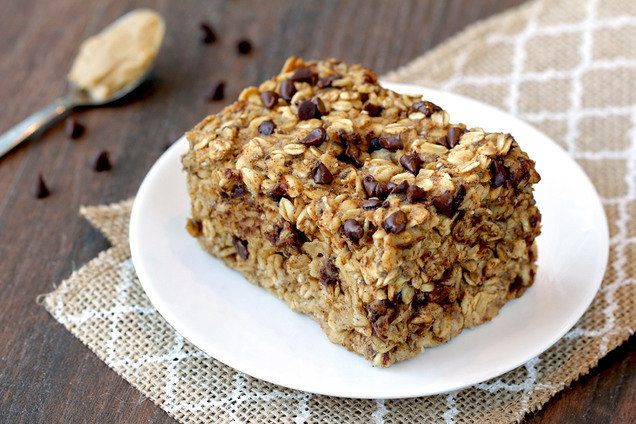 Hungry Girl S Healthy Peanut Butter Chocolate Oatmeal Bake Recipe