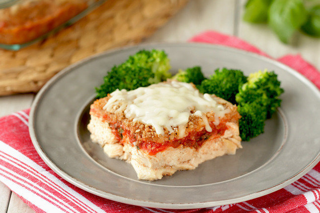 Healthy Chicken Parm Casserole Recipe Hungry Girl