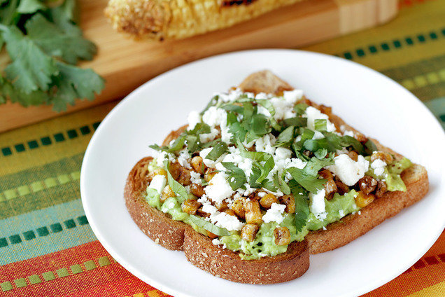 Breakout Recipe: Hungry Girl's Healthy Mexi-Corn Avocado Toast