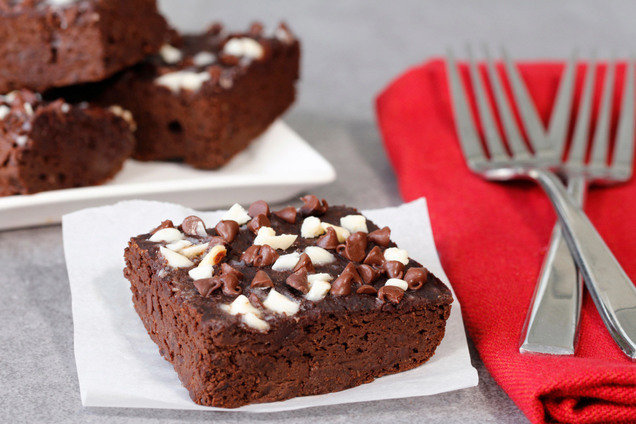 Hungry Girl's Winter Wonderland Brownies Recipe