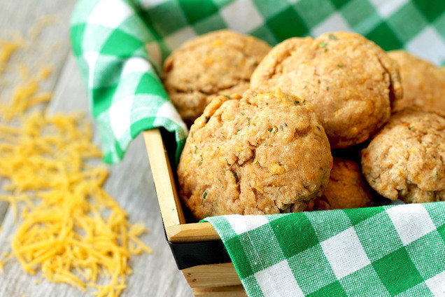 Hungry Girl's Healthy Cheddar Yay! Cauliflower Biscuits Recipe