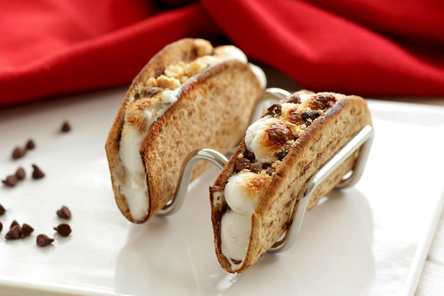 Healthy Mini S'mores Taco Recipe
