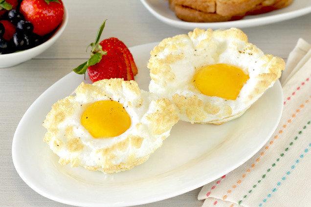 HG's Healthy Cloud Eggs Recipe