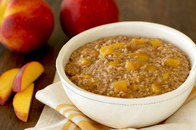 Instant Pot Recipes: Peaches 'n Dream Oatmeal