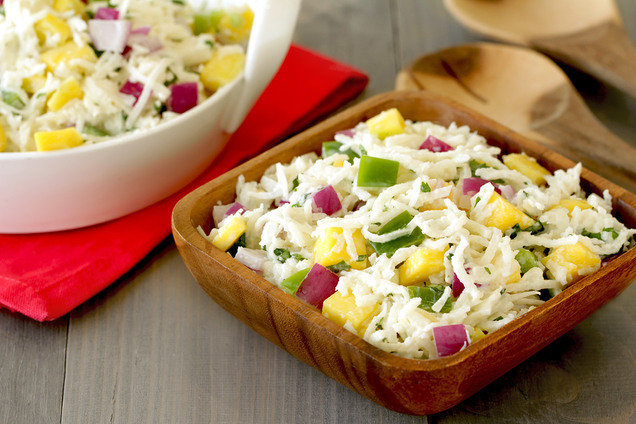Hungry Girl's Healthy Trop 'Til You Drop Jicama Slaw