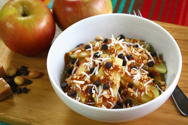 Hungry Girl's Healthy Deconstructed Caramel Apple Recipe