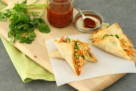 Hungry Girl's Healthy Sassy Wonton Tacos Recipe