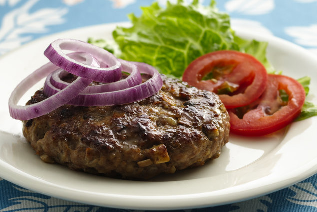 Hungry Girl's Healthy OMG Onion Mushroom Goodness Burgers Recipe