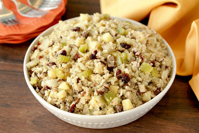 Hungry Girl's Healthy Cuckoo for Cauliflower Rice Stuffing Recipe