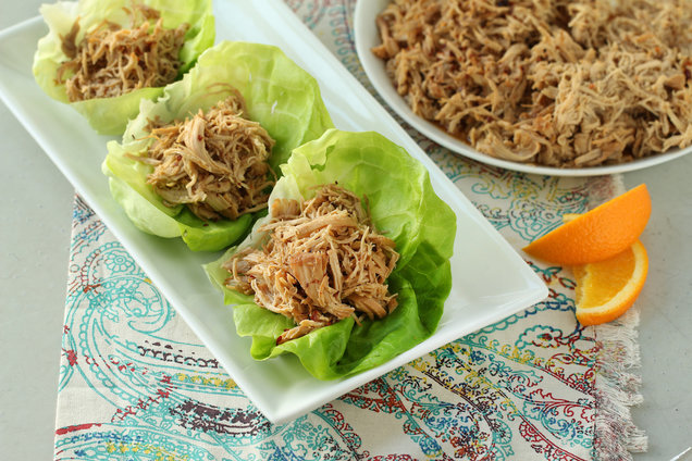 Hungry Girl's Healthy Slow-Cooker Shredded Orange Sesame Chicken Recipe