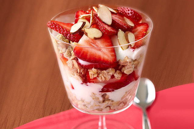 Hungry Girl's Healthy Overnight Oats Power Parfait Recipe