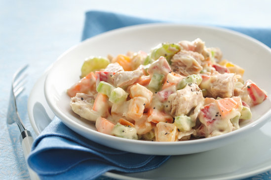 Hungry Girl's Veggie-Loaded Tangy Tuna Salad