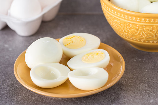 Hungry Girl's Healthy Instant Pot Hard-Boiled Eggs Recipe