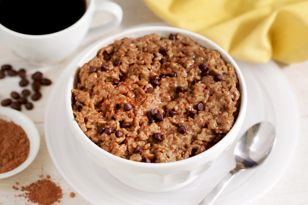 Hungry Girl's Healthy Coffee Growing Oatmeal Recipe